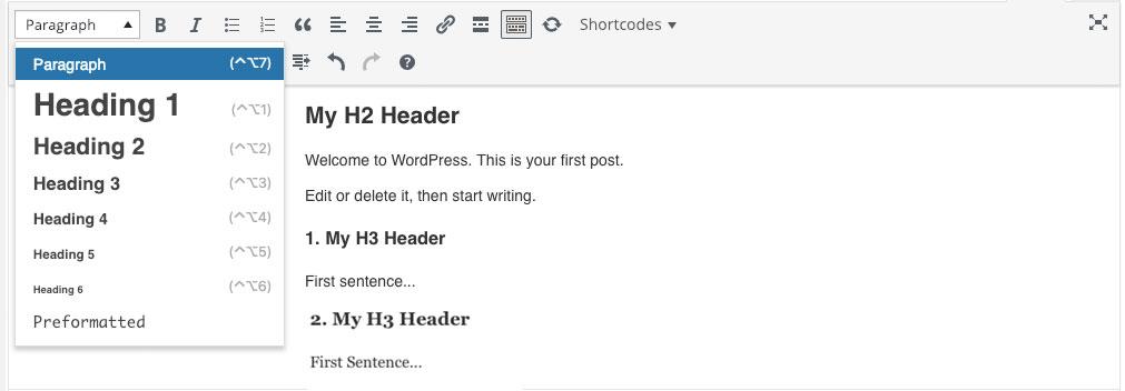 optimizacija sajta naslovi i podnaslovi