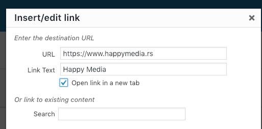 izrada sajta happy media, beograd, cene